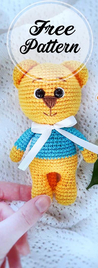 Little Lion Amigurumi: Free and easy crochet pattern   Crochet ...   1080x398