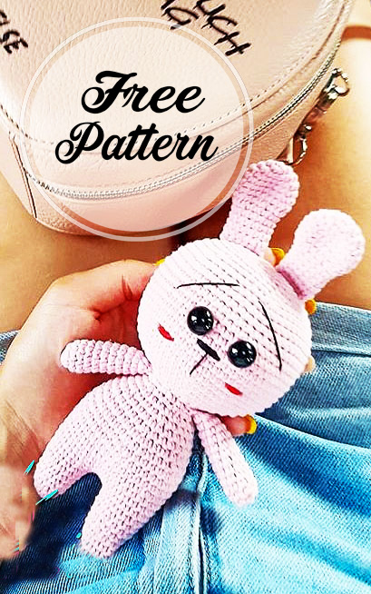 crochet-mignon-lapin-rose-amigurumi-modele-libre