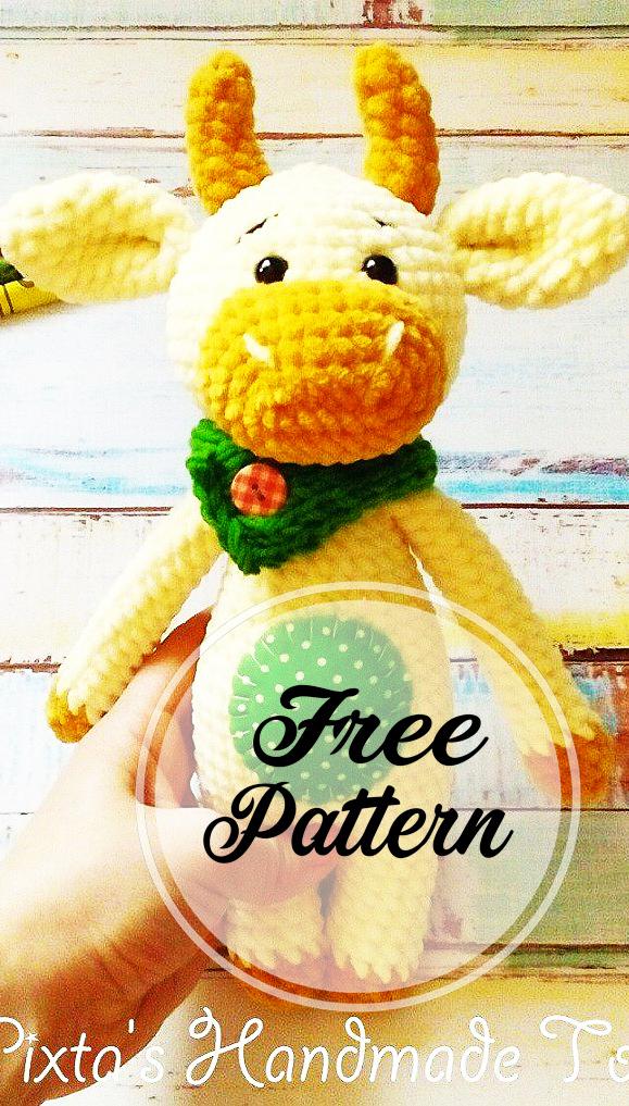 crochet-taureau-amigurumi-modele-libre