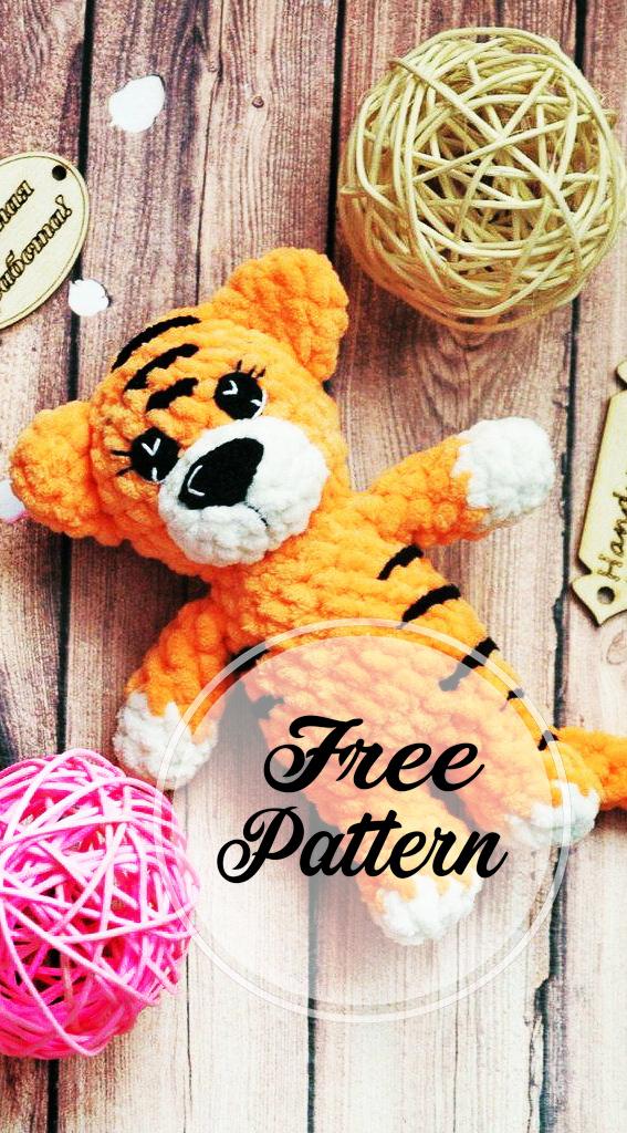 crochet-tigre-amigurumi-modele-libre