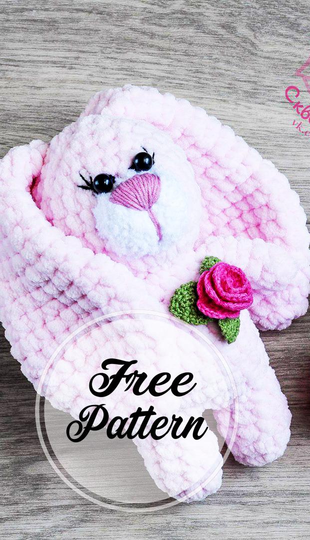 Free Crochet Pink Color Bunny Amigurumi Pattern Ideas | Amigurumi pattern,  Modele crochet gratuit et Crochet amigurumi | 1080x621