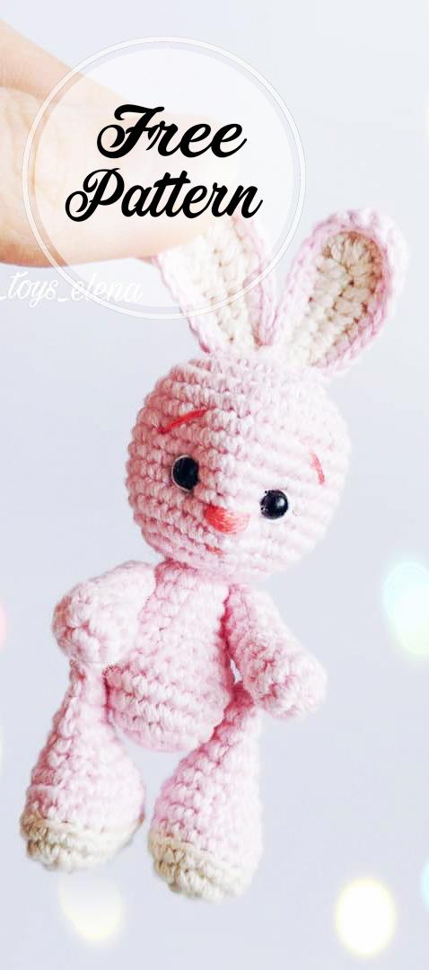 AMIGURUMI (crochet) : petit lapin blanc (avec images) | Petit ... | 1080x478